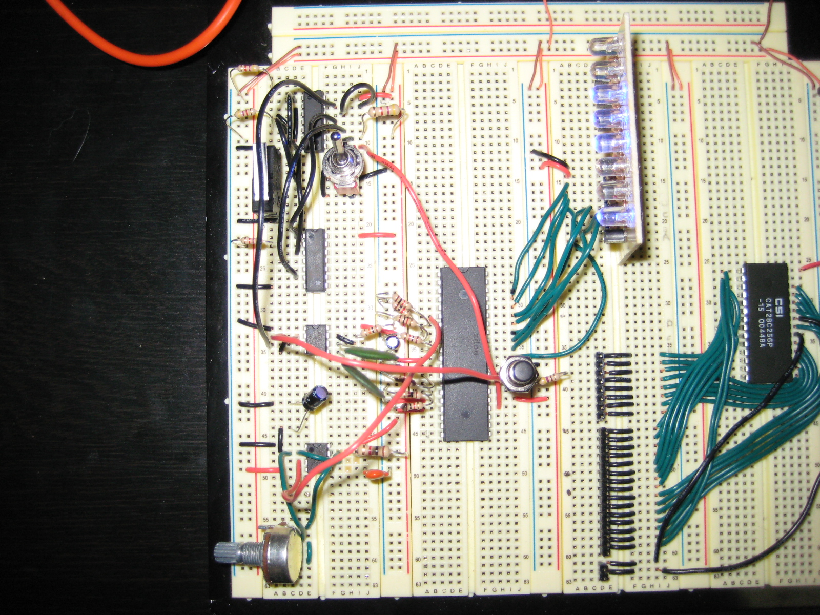 Single Step Instruction Circuit Z80 Computer Project Circuits 8085 Projects Blog Archive 15v Led Flashlight Share This