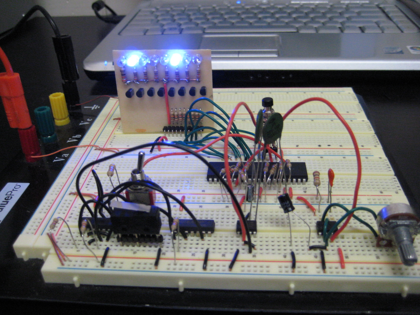 Single Step Instruction Circuit Z80 Computer Project Circuits 8085 Projects Blog Archive 15v Led Flashlight Repository