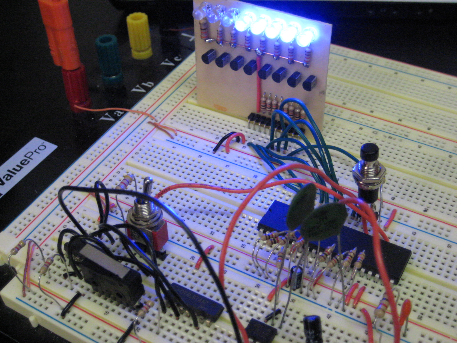 Single Step Instruction Circuit Z80 Computer Project Circuits 8085 Projects Blog Archive Led Flashlight Driver Share This